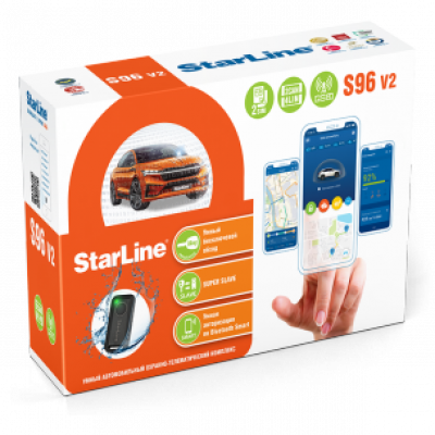 Сигнализация  StarLine S96 V2 BT 2CAN+4LIN GSM
